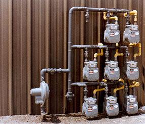 gas master meter individual meter