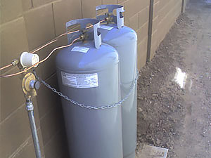 23 Gallon Propane Tanks