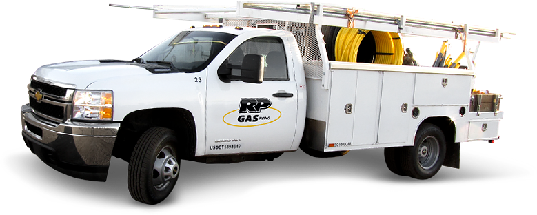 Gas Piping Truck